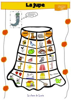 La jupe Fun Learning, Alphabet, Teaching, Activities, Education, Galette, Blog, Jouer, Montessori