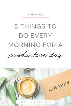 Having a great morning routine and the right positive mindset is so important.Here are 8 things you need to do before 9 AM each morning to have a more productive day. These habits will help boost your productivity levels, get you closer to achieving your goals, and transform your life for the better! #goalsetting #productivity #planner #planning #success Time Management Planner, New Year Goals, Productive Day, Self Development, Personal Development, Christian Parenting, Transform Your Life, Mind Body Soul, How To Manifest