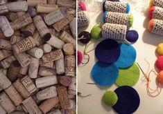 Bamboleos  Repurposed Wine Cork Cat Toys with Organic by moderncat, $10.00