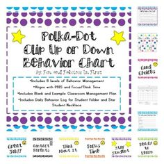 Classroom Management  Best Behavior Bingo Game  Positive