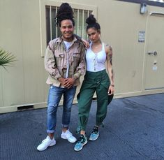 Kehlani and Daniel outfits - May 2015