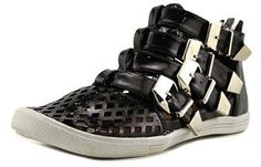 N.Y.L.A. Shoes N.y.l.a. Scorpio Women Synthetic Black Fashion Sneakers.