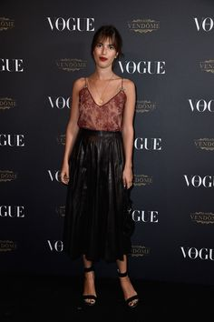 Jeanne Damas en total look Gucci Vogue Paris soirée 95 ans http://www.vogue.fr/mode/inspirations/diaporama/la-soire-des-95-ans-de-vogue-paris/22911#jeanne-damas-en-total-look-gucci