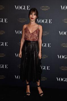 Jeanne Damas en total look Gucci Vogue Paris soirée 95 ans http://www.vogue.fr/mode/inspirations/diaporama/la-soire-des-95-ans-de-vogue-paris/22911#jeanne-damas-en-total-look-gucci