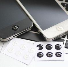 Wholesale 330 pcs/lots Home Button Sticker For iPhone 7/7 plus/6Plus/6 5S/5 4/4S iPad 2 3 mini Classical Black White