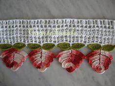 Plusieurs bordures au crochet - magnifiques mais pour un peu expertes...