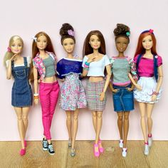 360 отметок «Нравится», 7 комментариев — Emily Polak (@emilypm3) в Instagram: «Today's outfit selection  #barbie #barbiedoll #barbiecollector #barbiemadetomove…»