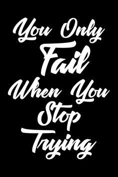 Poster Online, Fails, Motivation, Life, Make Mistakes, Determination, Inspiration
