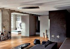 rustic urban modern - Méchant Studio Blog: studio-loft