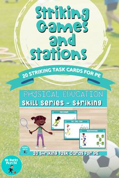 Physical Education Curriculum, Primary Games, Elementary Pe, Pe Lessons, Pe Teachers, Pe Games, Task Cards, Distance, Physics