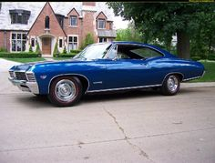 1967 chevy impala ss Maintenance/restoration of old/vintage vehicles: the material for new cogs/casters/gears/pads could be cast polyamide which I (Cast polyamide) can produce. My contact: tatjana.alic14@gmail.com
