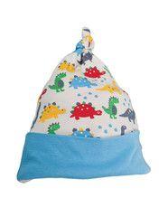 Frugi organic cotton baby hat - dino parade