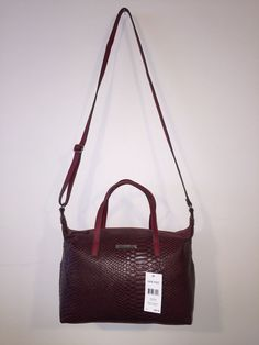 Nine West Feeling Slouchy Color Red Women's Bag | eBay