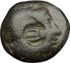 AIGAI in AEOLIS 2-1stCnBC Apollo Goat LYRE COUNTERMARK Ancient Greek Coin i52592 https://trustedmedievalcoins.wordpress.com/2015/12/31/aigai-in-aeolis-2-1stcnbc-apollo-goat-lyre-countermark-ancient-greek-coin-i52592/