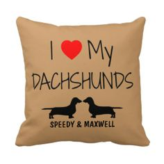 >>>Order          	Custom I Love My Two Dachshunds Throw Pillow           	Custom I Love My Two Dachshunds Throw Pillow We have the best promotion for you and if you are interested in the related item or need more information reviews from the x customer who are own of them before please follow t...Cleck Hot Deals >>> http://www.zazzle.com/custom_i_love_my_two_dachshunds_throw_pillow-189791508557335672?rf=238627982471231924&zbar=1&tc=terrest