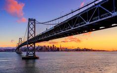 #SF #SFC #California #Photography #USA #Bridge #Coast #Ocean #SanFrancisco  #BayBridge #Sunrise