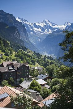 villesdeurope:  Wengen, Switzerland