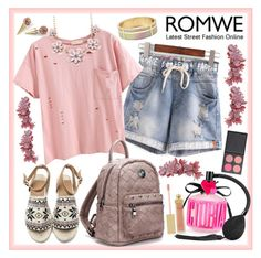 """""""ROMWE 11"""" by ziandra on Polyvore featuring Victoria's Secret, AERIN and ZOEVA"""