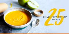 Soup recipes are a healthy eater's best friend. Here are 25 recipes from chicken soup and chili to potato soup and bone broth. Check out these soup recipes!