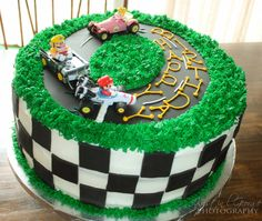 mario kart birthday cake - Google Search