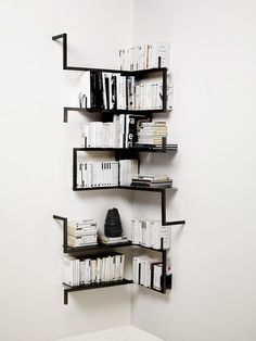 62 Awesome Bookshelves for Your Perfect Personal Library https://www.futuristarchitecture.com/6210-awesome-bookshelves.html Check more at https://www.futuristarchitecture.com/6210-awesome-bookshelves.html