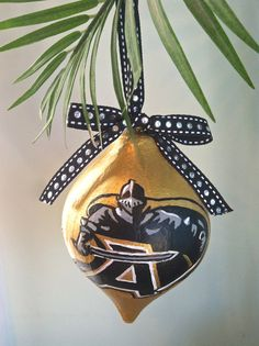 Army Black Knights Snowflake Ornament