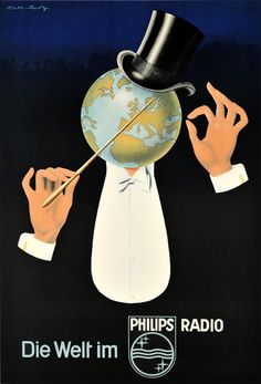 Philips radio advert 1940
