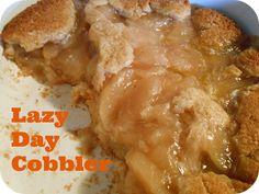 Lazy Day Cobbler {Lighter Options} - The Better Baker