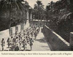 Bağdat Osmanlı askerleri.