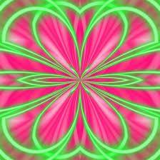 Znalezione obrazy dla zapytania kaleidoo flower neon
