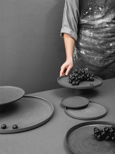 Ceramics pick of the month - Nüüd Ceramics - Eclectic Trends Ceramic Tableware, Ceramic Clay, Kitchenware, Pottery Plates, Ceramic Pottery, Earthenware, Stoneware, Ceramics Projects, Pottery Designs
