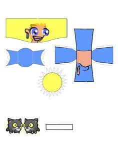 Castle Crashers Blue Princess paper craft