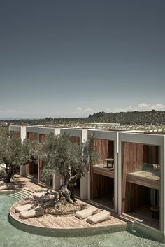 Olea All Suite Hotel Zakynthos architecture Hotel Lobby Design, Hotel Design Architecture, Beach Hotels, Hotels And Resorts, Luxury Hotels, Florida Hotels, Hilton Hotels, Top Hotels, Downtown Hotels