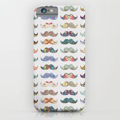 Mustache Mania iPhone & iPod Case