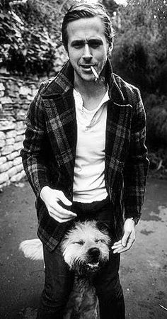 ahhh Ryan and George. I love a man who loves their dog :)