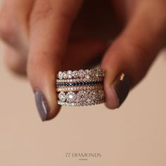 kind of love the idea of a new stackable ring for each milestone-
