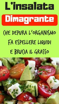 L'insalata dimagrante che depura l'organismo, fa espellere liquidi e brucia … The waning salad that cleanses the body, expels fluids and burns fat Veggie Recipes, Cooking Recipes, Healthy Recipes, Detox Diet Recipes, Liver Detox Diet, Detox Salad, International Recipes, Healthy Life, Good Food