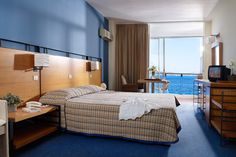 Our Superior, sea-view room.