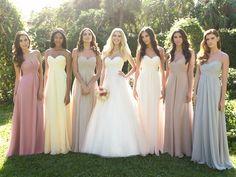 Different Bridesmaid Dress Color