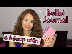 Bullet Journal 6 hónap után | Viszkok Fruzsi - YouTube Bullet Journal, Diy And Crafts, Youtube, Youtubers
