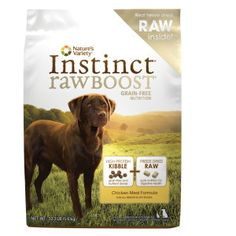 Nature's Variety® Instinct® Raw Boost Dog Food - Grain Free, High Protein | Dry…