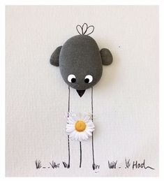 Beautiful Pebble Art Ideas - Beautiful Pebble Art Ideas The Effective Pictures We Offer You About simple crafts A qu - Stone Pictures Pebble Art, Glass Art Pictures, Pebble Stone, Stone Art, Stone Crafts, Rock Crafts, Arts And Crafts, Sea Glass Crafts, Sea Glass Art