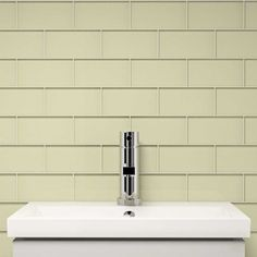 """Glass Subway Tile (Cream) - 3"""" x 6"""" Piece. $1.87 Per Tile from Wholesalers USA"""