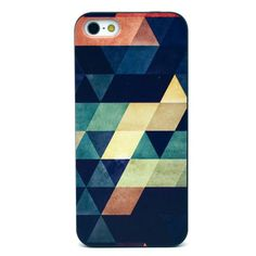 Mesh - iPhone 5(s) Hoesje - Back Case Hard Geometrie