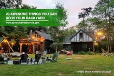 Your backyard is the best place to enjoy the outdoors & commune with nature without having to step out of your home. Find out some of the fun things you can do in your backyard.