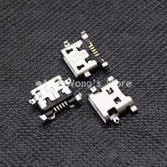 10 pcs Micro USB tipe B 5pin Konektor Perempuan Untuk Ponsel Micro USB Jack Konektor 5 pin Pengisian Socket
