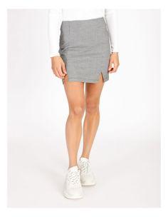 Miss Shop Black & White Houndstooth Mini Skirt | MYER Plaid Skirts, Mini Skirts, Tartan Plaid, Houndstooth, Black And White, Shopping, Dresses, Fashion, Vestidos