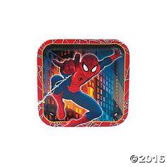 Ultimate Spider-Man Dessert Plates