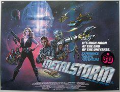 Metalstorm, Tormenta Metalica, la 1er pelicula que vi en 3D