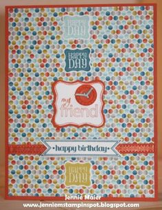 SUO-FTL221 Happy Day by CraftyJennie - Cards and Paper Crafts at Splitcoaststampers